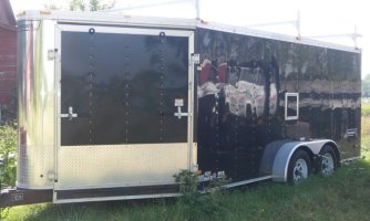 20 ft enclosed trailer